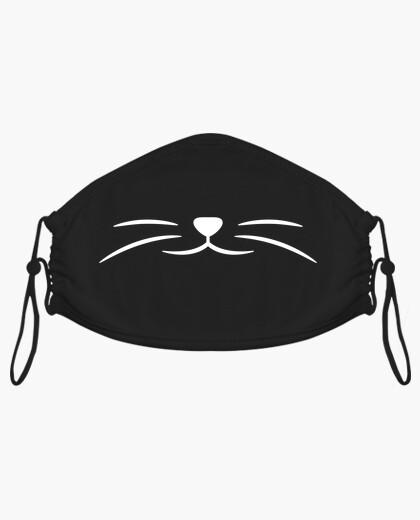 Mascherina maschera bocca di gatto superficiale