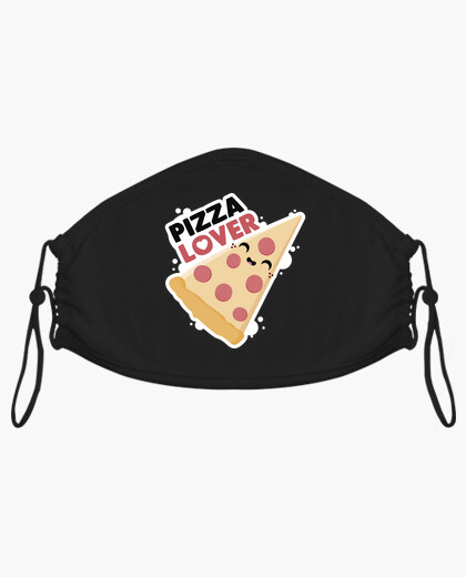 Mascherina pizza amoree r