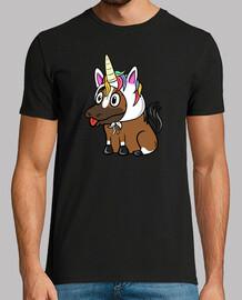 Mascota Caballo Unicornio