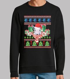 Mascota Cabra Ugly Navidad