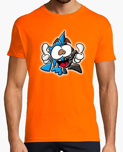 Camiseta Mascota Chakry Blue Recolor