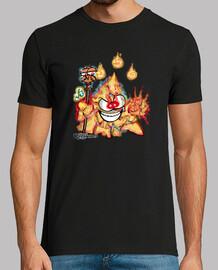 Mascota Chakry Clase Mago Fuego (Hombre)