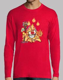 Mascota Chakry Clase Mago Fuego (Manga Larga)