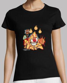 Mascota Chakry Clase Mago Fuego (Mujer)