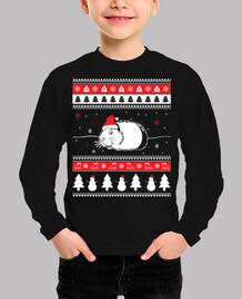 Mascota Cuy Ugly Navidad
