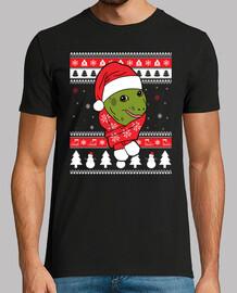 Mascota Tortuga Ugly Navidad