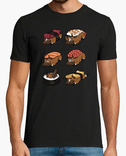 Tee-shirt mascotte all ou sushi nigiri