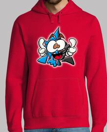 mascotte chakry bleu recolor