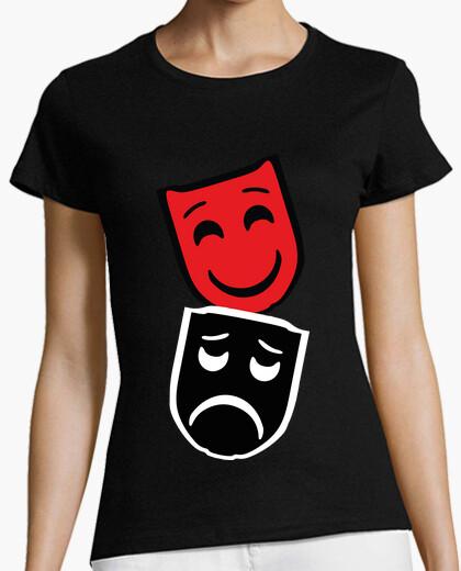 Mask / masks / theater / tragicomedy t-shirt