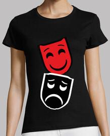 mask / masks / theater / tragicomedy