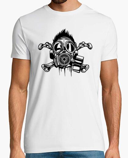 Tee-shirt Masque à Gaz Pirate