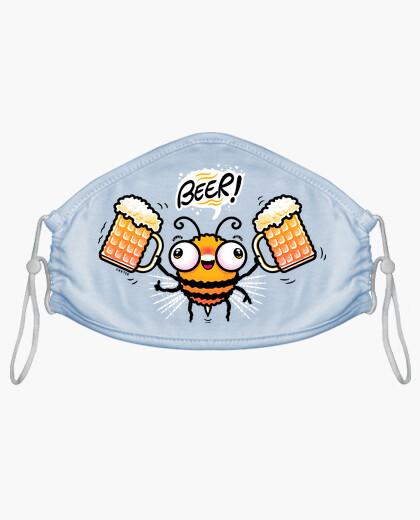 Masque de bière d'abeille