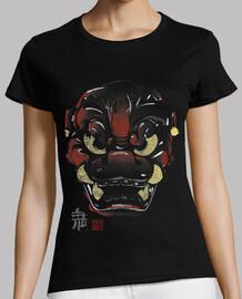 masque japonaise démon kanji