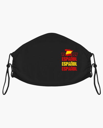 Masque je suis espagnol espagnol espagnol