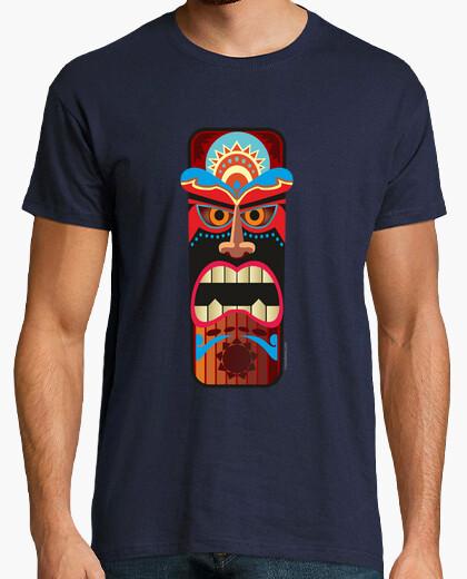 Tee-shirt Masque totem Tiki - Hawaii