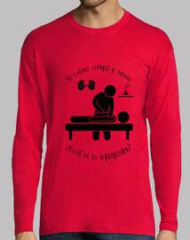 massaggi uomo t-shirt 2 colori
