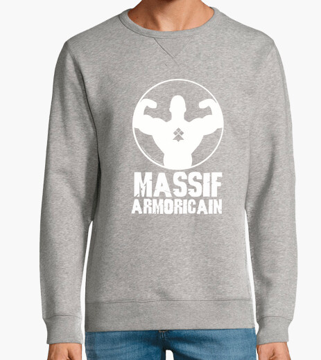 Massif Armoricain - homme sweat léger