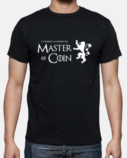 Camisetas Master of coin