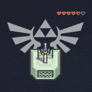 Camisetas Master Sword - Fondo blanco