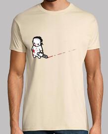 Matanza de Texas Cine Parodia camisetas friki