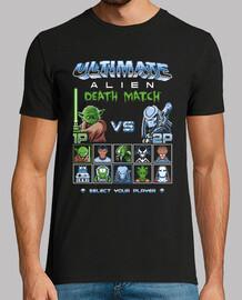 match de mort extraterrestre ultime / 8bit jeux / hommes