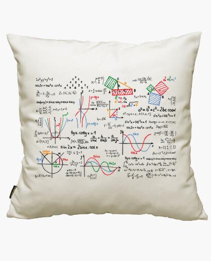 Fodera cuscino matematica