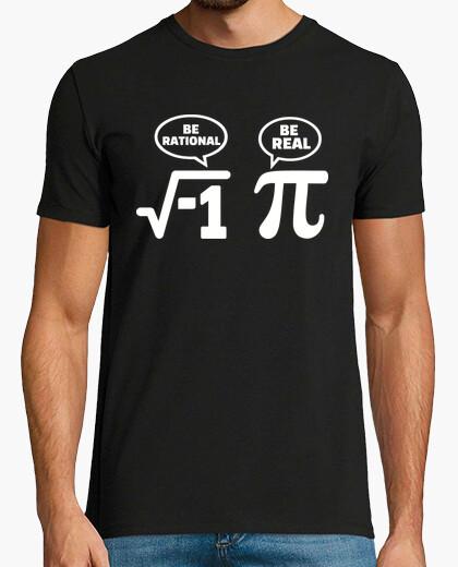 T-shirt matematica nerd comico pi