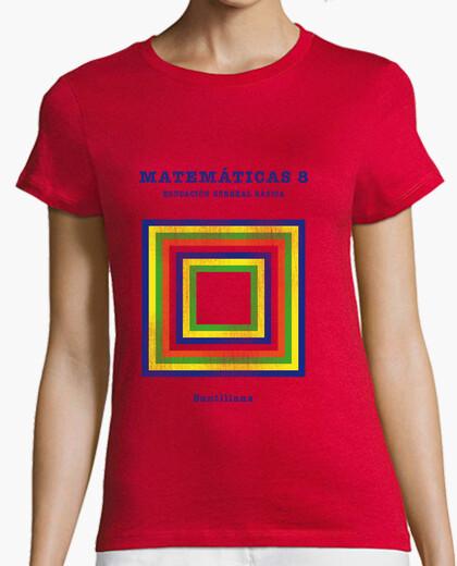 Camiseta Matemáticas 8