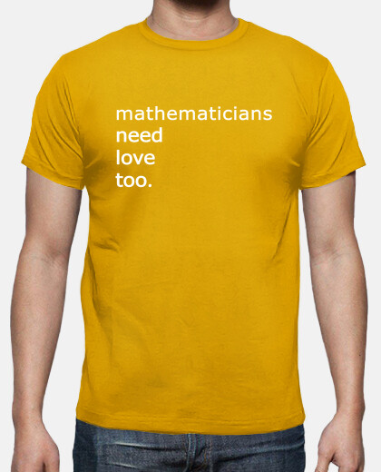 mathematicians need love too