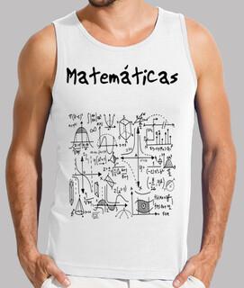 maths - camiseta con ecuaciones matemáticas