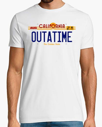Camiseta Matricula OUTATIME (Regreso al Futuro)
