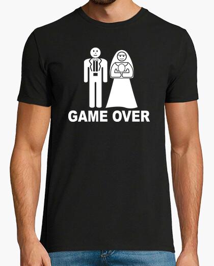 T-shirt matrimonio = endgame