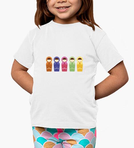 Ropa infantil matrioshkas