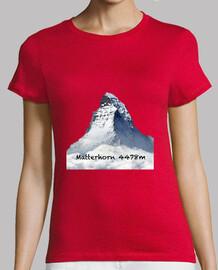 Matterhorn  Mujer, manga corta, naranja, calidad premium