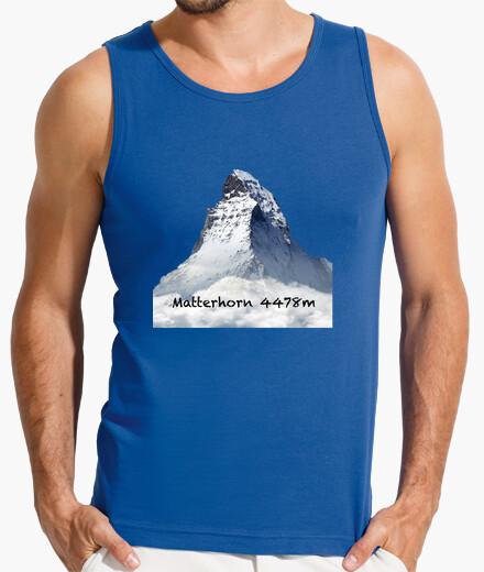Camiseta Matterhorn Hombre, sin mangas, azul royal
