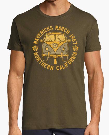 T-Shirt mavericks surfen