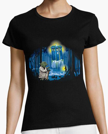 Tee-shirt May the tardis be With You