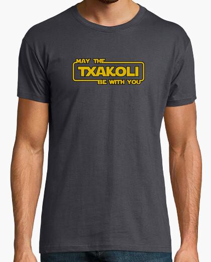 Camiseta May the Txakoli be with you