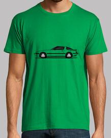 Mazda RX7 con fondo transparente