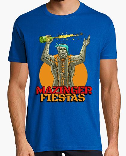 T-shirt mazinga feste ii