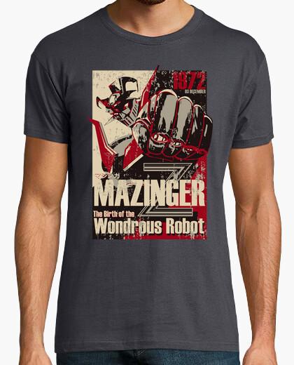 Camiseta Mazinger 1972