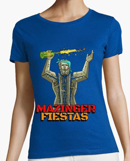 Camiseta MAZINGER FIESTAS