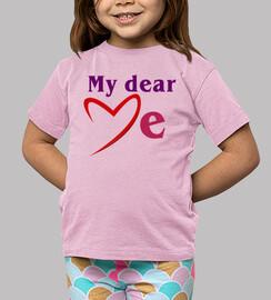 MD love me textes rouges (Dessin 80006