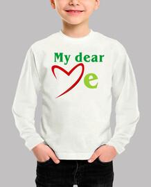 md love me textos verdes (dibujo nº8000