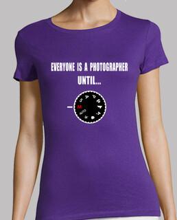 mädchen t-shirt jeder ist ein fotograf
