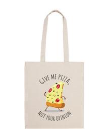 me donner la pizza