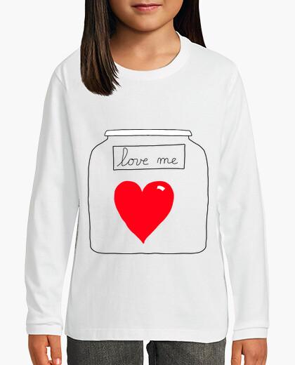 Ropa infantil me encanta - amor - valentine