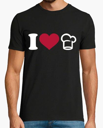 Camiseta me encanta cocinar chef