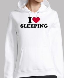 Me encanta dormir
