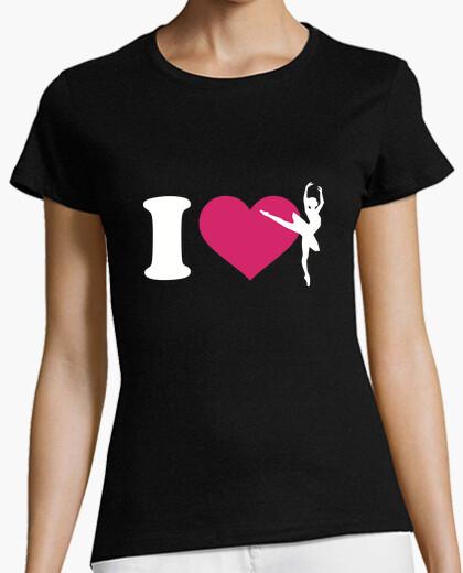 Camiseta me encanta el ballet